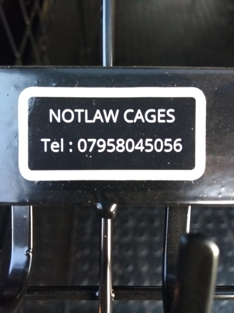 Notlaw Cages telephone number